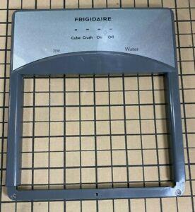 Frigidaire Refrigerator Dispenser Facade Gray 5304525097 240570235 241679009