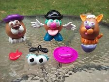 Mr Potato Head Boy Cat Dog Set Of Three With Extra Accessories Hasbro Playskool