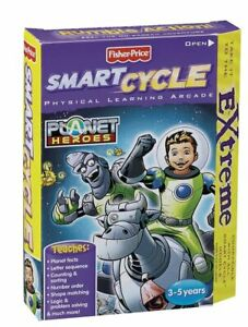 Fisher-Price Smart Cycle Extreme [Old Version] Planet Heroes Software NEW RARE