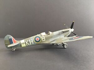 WW2 Spitfire built & weathered for display