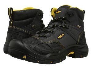 Man's Boots Keen Utility Logandale Waterproof Steel Toe