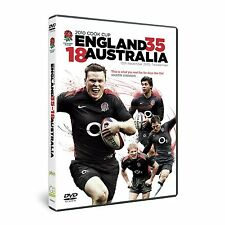 2010 COOK CUP ENGLAND 35 - 18 AUSTRALIA DVD RUGBY UNION FULL MATCH