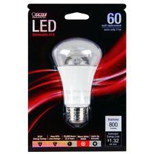 Feit BPA19/CL/DM/800/LED 60W Equivalent A19 Decorative Style LED Light