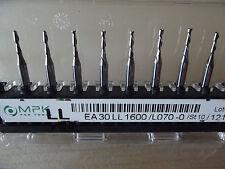 10  Stück VHM Zweischneiden Fräser +1,0 mm links  + + Dremel + Proxxon + CNC