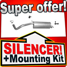 Rear Silencer SEAT IBIZA V SKODA FABIA VW POLO 1.6 16V SINCE 2006 Exhaust EHL