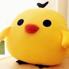 24'' Big Yellow Chicken Plush Toys Giant Stuffed Pillow Large Soft Doll Kid Gift