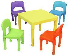 Liberty House Multi-Coloured Table and 4 Chairs
