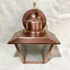 Vintage Copper Porch Light