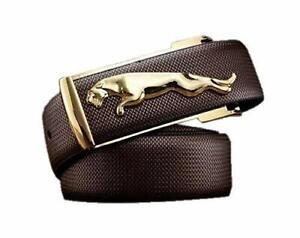 New Brown PU Men's Buckle Belt Gift Item