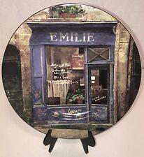 The Sakura Table Storefronts Decorative Plate Emilie
