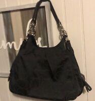 COACH  Authentic Lg Mia Signature Sateen Outline C Maggie Bag Retail- $398