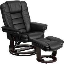 Flash Furniture Black Bonded Leather Recliner, Black - BT-7818-BK-GG