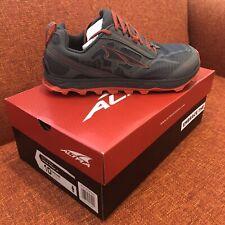 Altra Lone Peak 4.0 Trail Running Shoes - Men's Size 10 - Gray/Orange