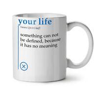 Your Life NEW White Tea Coffee Mug 11 oz | Wellcoda