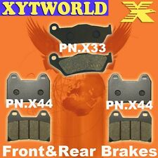 FRONT REAR Brake Pads MOTO GUZZI 1200 Stelvio NTX ABS 2009 2010