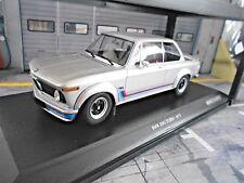 BMW 2002 02er Turbo E10 E20 silber silver 1973 RAR Minichamps 1:18