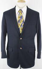 Brooks Brothers Men's 2 Button Suit Jacket 39R Navy Color Fitzgerald 1818
