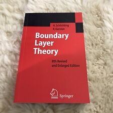 Boundary-layer Theory by Hermann Schlichting Paperback Book INDIAN EDITION NInth
