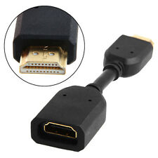 HDMI1.4 Male To Female Extension Cable Conversion Cord Pure Copper For HDTV