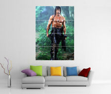 RAMBO FIRST BLOOD GIANT WALL ART PRINT POSTER