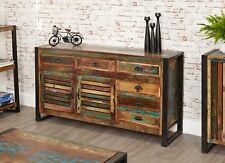 Industrial Vintage Loft Style Sideboard Reclaimed Wood