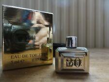 miniature. gianfranco ferre. 20. couleur doré. 5 ml. eau de toilette