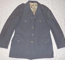 St Andrews Mens Grey Nailhead Sports Coat/Jacket/Blazer Beautiful 40R
