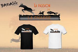 T-shirt HOMME LA PASSION DE LA CHASSE