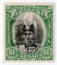 (I.B) Malaya States Revenue : Kedah Duty $1 (Japanese Occupation)