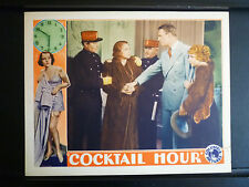 1933 COCKTAIL HOUR - EXC- CON LOBBY CARD - SEXY BEBE DANIELS IN PRE-CODE FILM A