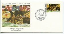 W63 1-1 History of World War II Marshall Is FDC Landing at Bougainville 1943.11