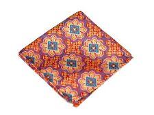 Biscayne Aqua Silk $75 Retail New Lord R Colton Masterworks Pocket Square