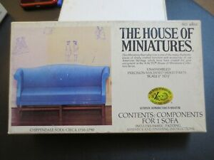 The House of Miniatures Sofa Kit No 40015 1/12 Scale