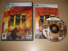 Age Of Empires III  THE ASIAN DYNASTIES Add-On Expansion Pack Pc Cd Rom AOE 3