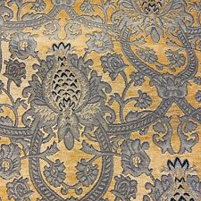 Stunning Champagne Damask Curtain Fabric// Material New BR130