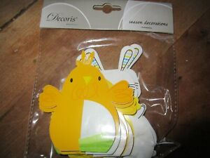 New Packet of Easter Decorations
