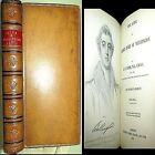 1873 LIFE DUKE OF WELLINGTON LEATHER BRITISH MILITARY NAPOLEON PRIME MINISTER