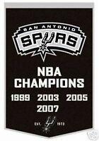 NBA San Antonio Spurs Basketball Dynasty Banner Wool Winning Streak