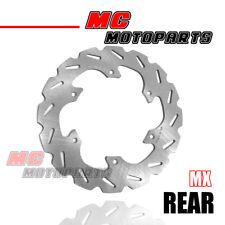 MC MX Rear Brake Disc Rotor For SUZUKI RM 125 / 250 RMX 250 S DRZ 400 E/S