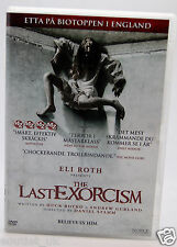 The Last Esorcismo DVD Regione 2 nuovo Horror