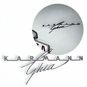 """VW KARMANN GHIA REAR DECKLID SCRIPT - """"LARGE"""" (300mm) for 1956 - 1962"""