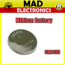 CR2450 Lithium Button Cell Battery 3V for Watch Thermometer Calculator and More