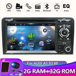 Car Radio Stereo For Audi A3 S3 RS3 Android 10.0 GPS Navi DVD Player Car Play BT