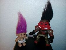 2 vintage Troll Dolls from 1992 & 1995