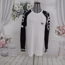Victoria's Secret PINK Long Sleeve Sequin Tee Shirt Size S