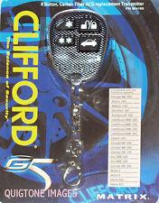 CLIFFORD 904100 Remote IntelliGuard CONCEPT AvantGuard Matrix RS Ace