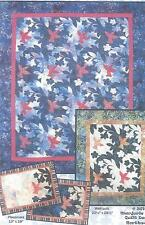 Hummingbird Vine applique quilt pattern by Marjorie Rhine of Quilt Design NW