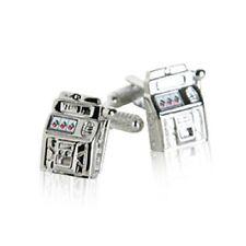 Slot Machine Cufflinks with Engraved Chrome Case : SJ006 - £11.99 FREE P&P