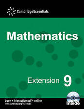 (Good)-Cambridge Essentials Mathematics Extension 9 Pupil's Book with CD-ROM (CD