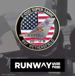 USAFE Challenge coin - F-100 Super Sabre RAF Wethersfield